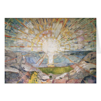 Edward Munch Art Painting Greeting Card