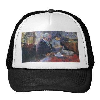 Edward Munch Art Painting Mesh Hat