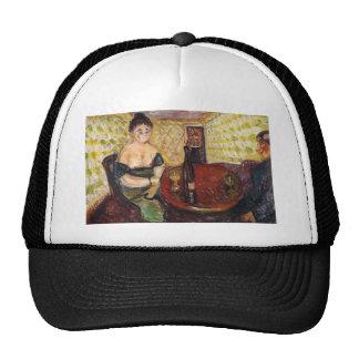 Edward Munch Art Painting Trucker Hat