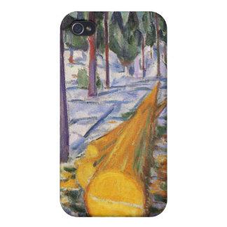 Edward Munch Art Painting iPhone 4 Case