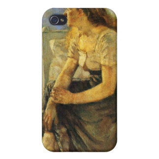 Edward Munch Art Painting Cover For iPhone 4