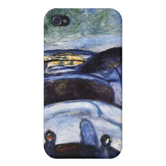 Edward Munch Art Painting iPhone 4/4S Cases