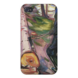 Edward Munch Art Painting Case For iPhone 4