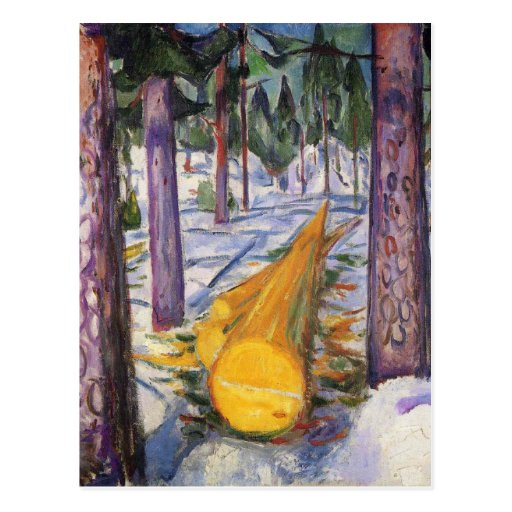 Edward Munch Art Painting Post Cards