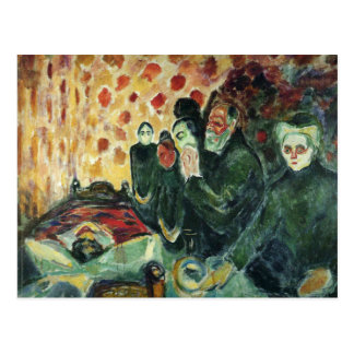 Edward Munch Art Painting Postcard
