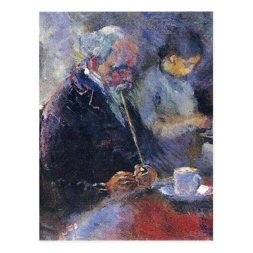 Edward Munch Art Painting Post Card