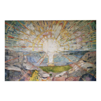 Edward Munch Art Painting Poster