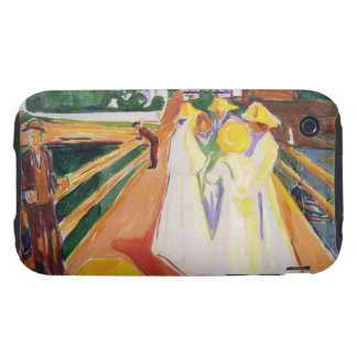 Edward Munch Art Painting Tough iPhone 3 Covers