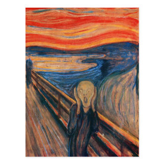 Edward Munch The Scream Postcard