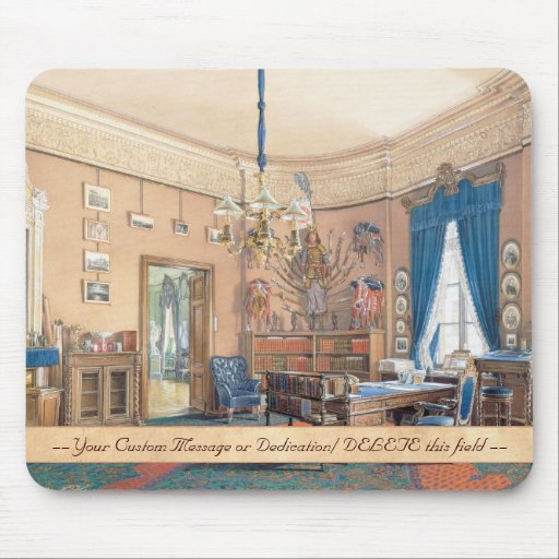 Edward Petrovich Interiors of the Small Hermitage Mouse Pads