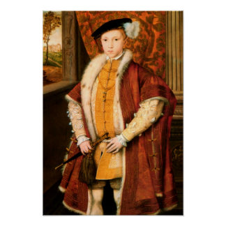 Edward Prince of Wales Edward VI of England Print