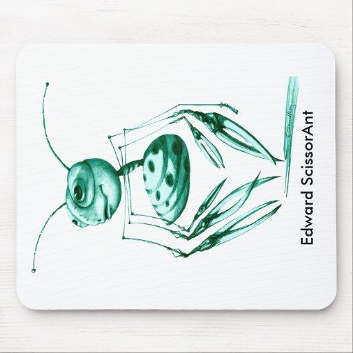 Edward Scissorant Mouse Pad