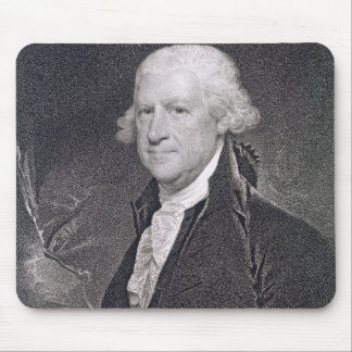 Edward Shippen (1729-1806) engraved by Edward Well Mouse Mat