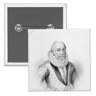Edward Somerset 15 Cm Square Badge