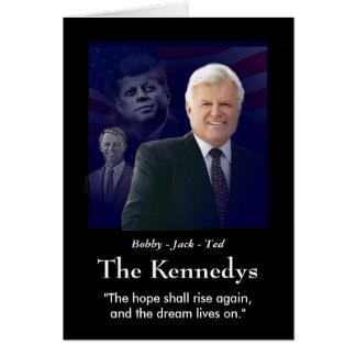 Edward (Ted) Kennedy - In Memorium Card