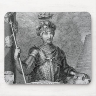Edward The Black Prince (1330-76) after the monume Mouse Pad