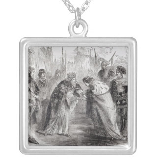 Edward the Black Prince Silver Plated Necklace