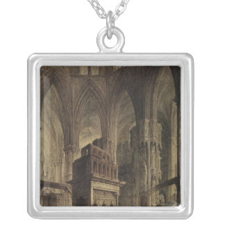 Edward the Confessor's Shrine, Westminster Abbey Silver Plated Necklace