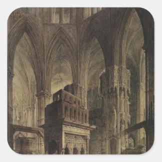 Edward the Confessor's Shrine, Westminster Abbey Square Sticker