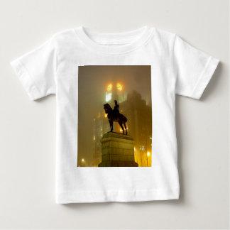 Edward V11 Statue, Pier Head, Liverpool UK Baby T-Shirt