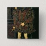 Edward VI 15 Cm Square Badge