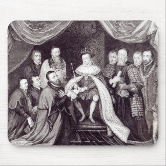 Edward VI Granting the Charter Mouse Mat