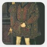 Edward VI Square Sticker