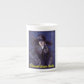 Edwardian lady Mug Bone China Mug