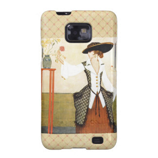 Edwardian Rose Galaxy S2 Covers