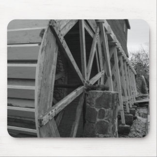 Edwards Water Wheel Mouse Pad