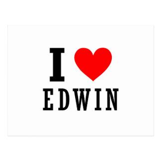 Edwin, Alabama Postcard