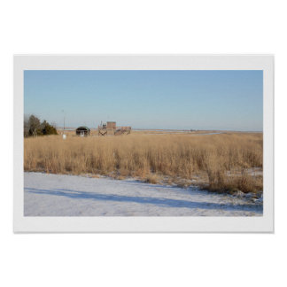 Edwin B Forsythe National Wildlife Refuge Poster