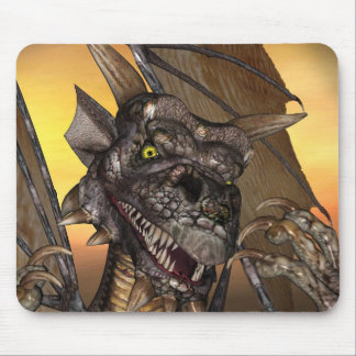 Edwin Dragon (Mouse Pads) Mouse Pad