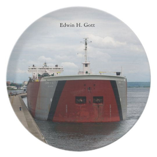 Edwin H. Gott Soo plate