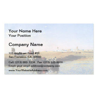 Edwin Lord Weeks- Scene at Sale, Morocco Business Card