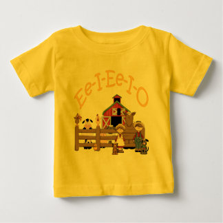 Ee I Ee I O on the Farm Baby T-Shirt