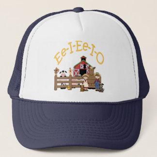 Ee I Ee I O on the Farm Trucker Hat