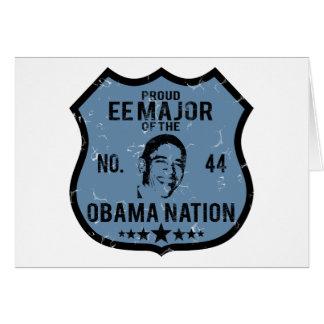 EE Major Obama Nation Greeting Card