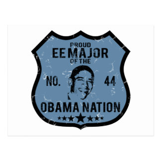 EE Major Obama Nation Postcard