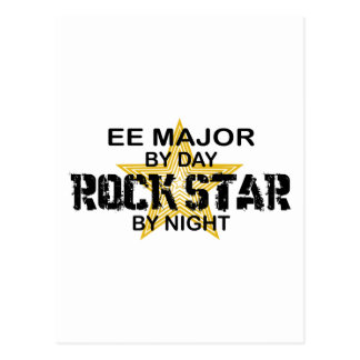 EE Major Rock Star by Night Postcard