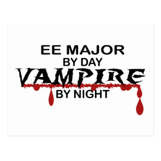 EE Major Vampire by Night Postcard