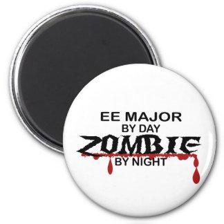 EE Major Zombie 6 Cm Round Magnet
