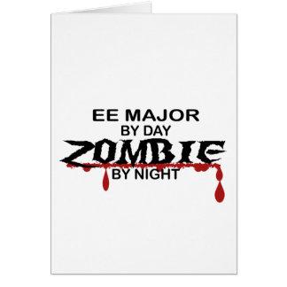 EE Major Zombie Greeting Card