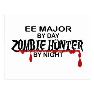 EE Major Zombie Hunter Postcard