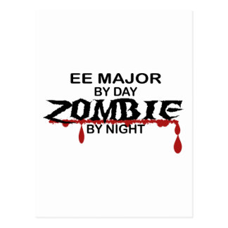 EE Major Zombie Postcard