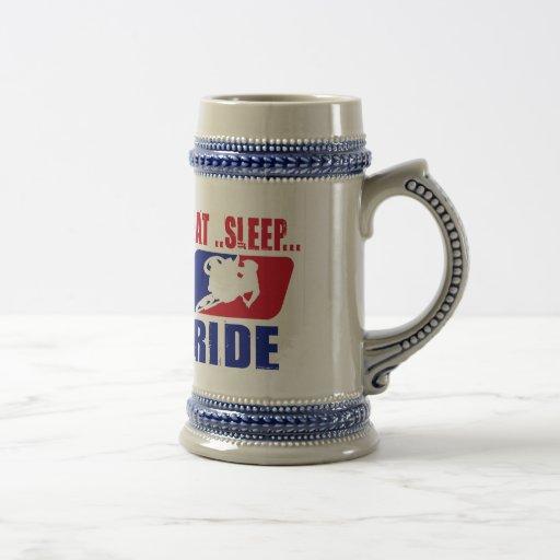 Eeat Sleep and ride Mug