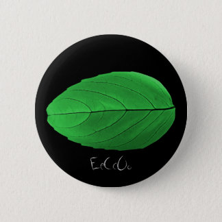 EeCcOo Green Leaf Button