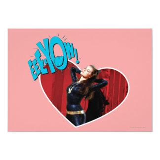 EEE-YOW! Catwoman 13 Cm X 18 Cm Invitation Card
