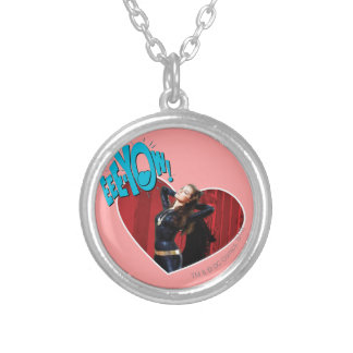 EEE-YOW! Catwoman Silver Plated Necklace