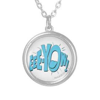 EEE-YOW! SILVER PLATED NECKLACE